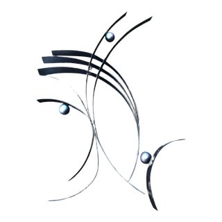 Curtis Jere Abstract Wall Sculpture For Sale
