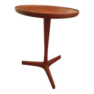 1960s Danish Modern Hans Andersen Teak Side Table For Sale