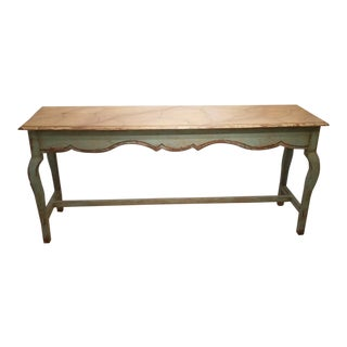 1990s French Country Nierman Weeks Console For Sale