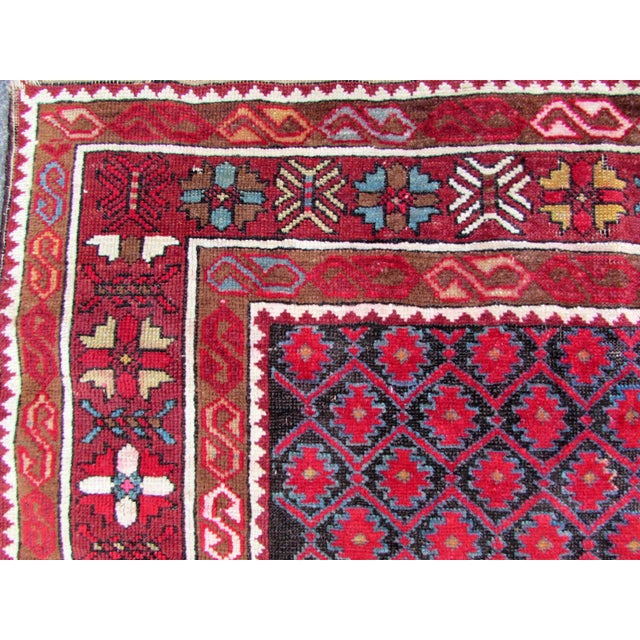 1910s, Handmade Antique Afghan Baluch Rug 3.1' X 5.9' For Sale - Image 4 of 13