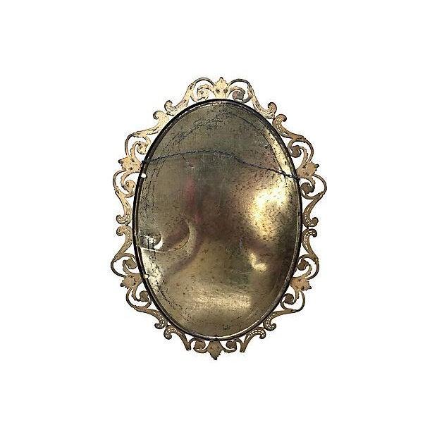 Brass Convex Mirror - Image 7 of 8