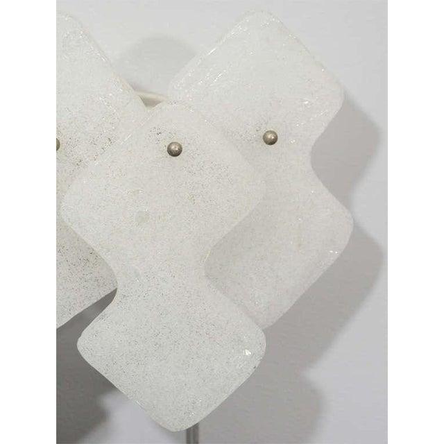 Contemporary 1970s Kalmar Glass Sconces For Sale - Image 3 of 5