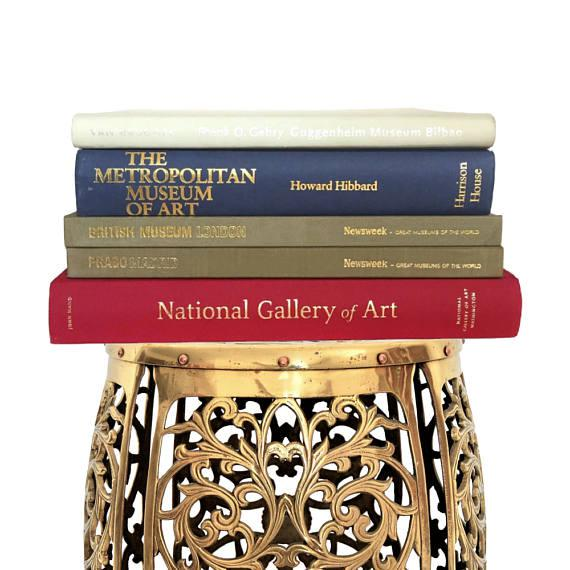 Coffee Table Books Hardback Art Museum Book Collection