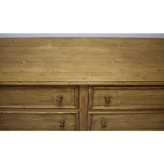 Pine Chest of Six Drawers For Sale In Washington DC - Image 6 of 8