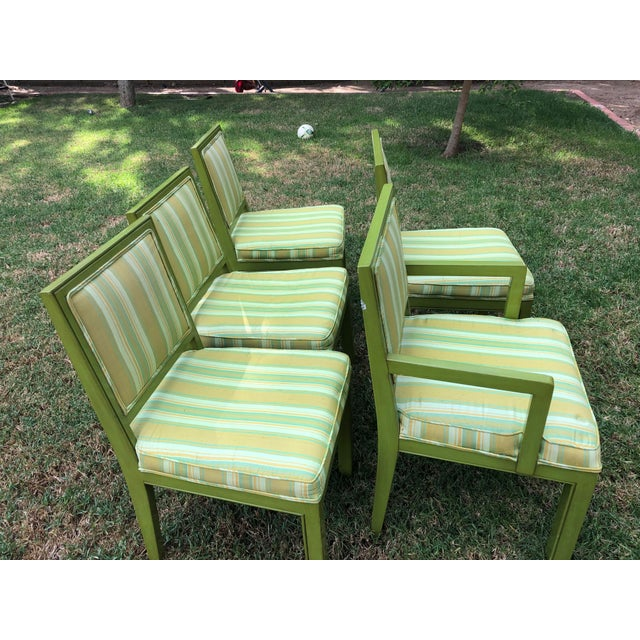 1970s Vintage Louis G Sherman Chairs - Set of 5 For Sale - Image 4 of 11