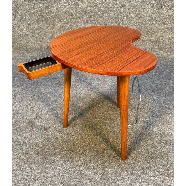 """1960s Vintage Danish Mid Century Modern """"Gorm"""" Side Table by Edmund Jørgensen For Sale - Image 5 of 9"""
