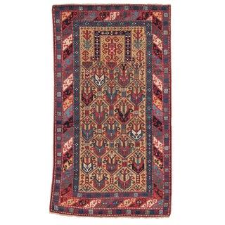 Antique Caucasian Prayer Rug For Sale