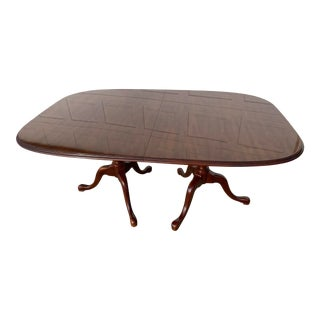 Traditional Drexel Cherry Dining Table For Sale