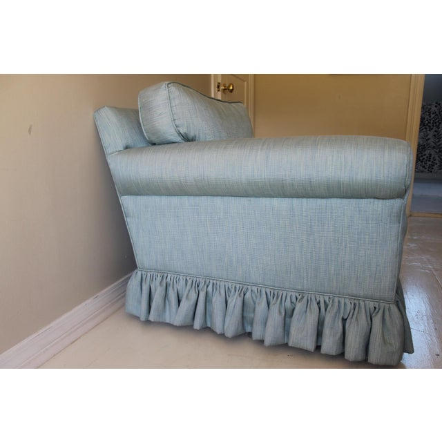 Modern Oversized Upholstered Club Chair For Sale - Image 4 of 10