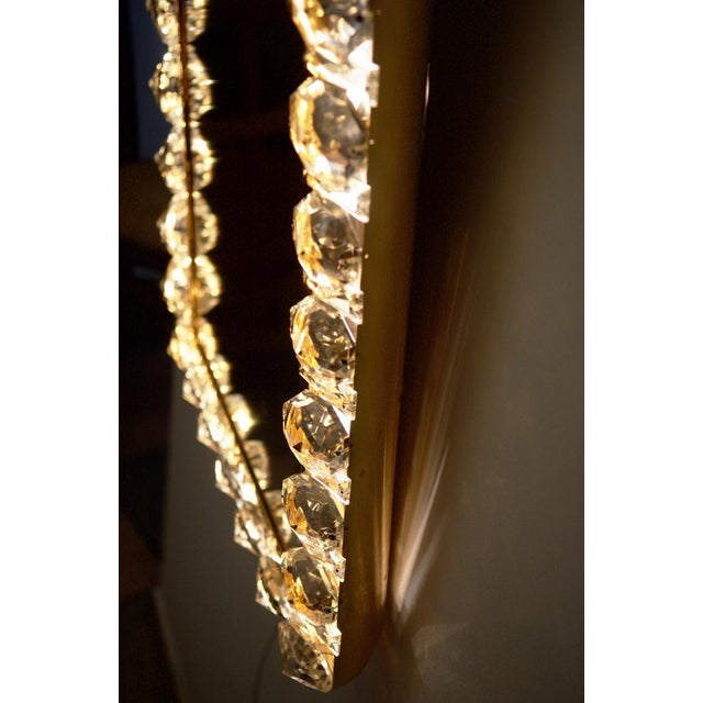 Mid-Century Modern Vintage crystal mirror by Bakalowits & Sohne For Sale - Image 3 of 11