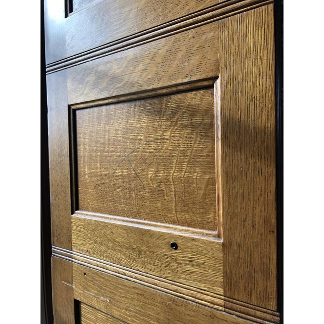 Antique Yawman and Erbe Oak Stacking File Cabinet For Sale - Image 10 of 11
