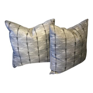 """Dragonfly Pillows Made in Wales 20"""" X 20"""" - a Pair For Sale"""