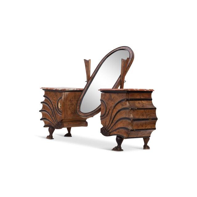 Art Nouveau Vanity Console For Sale - Image 10 of 11