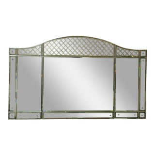 Fabulous Custom Made Deco Style Mirror For Sale
