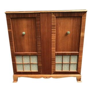 1950's Vintage Bar Cabinet For Sale