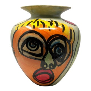 "1980s Abstract ""Sculpture Vase"" by Peter Keil For Sale"