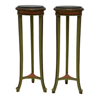 1960s Tall Display Stands or Plant Stands - a Pair For Sale