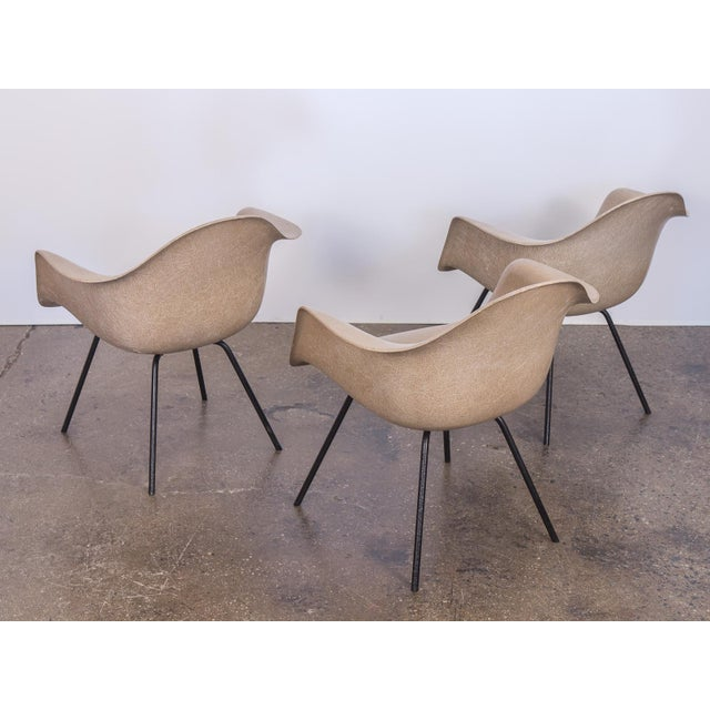 Herman Miller Second Generation Greige Eames Armshell Chair For Sale - Image 4 of 11