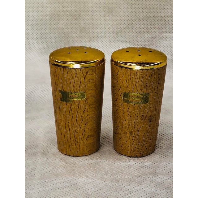 Mid Century Salt and Pepper Shakers - a Pair For Sale - Image 6 of 6