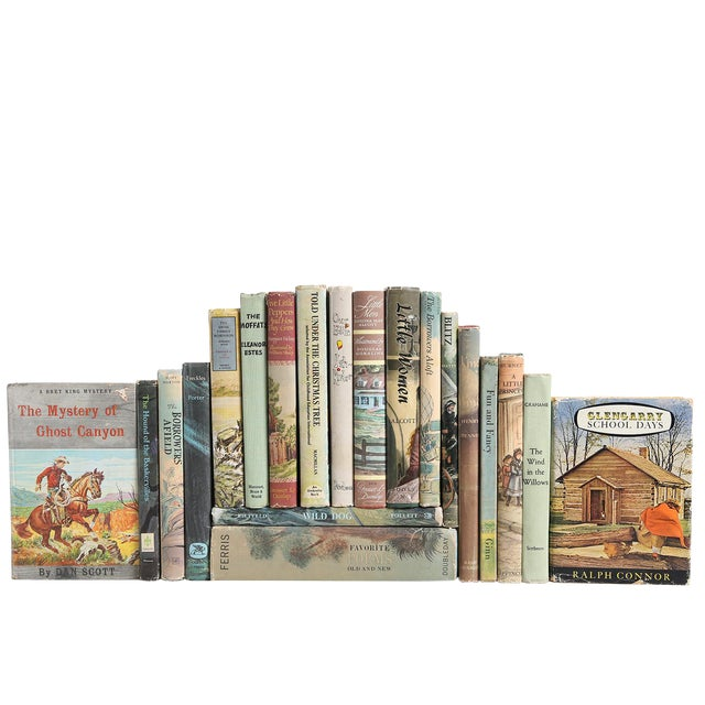 Vintage Stories for Boys & Girls - Set of 20 For Sale