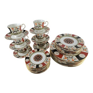 "Mikasa ""Shogun"" Bone China Dinnerware - Set of 36"