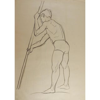 Line Drawing Male Figure For Sale