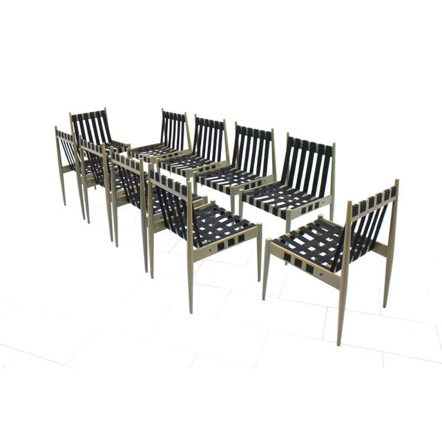 Mid-Century Modern 60x Egon Eiermann Dining Room Chairs Se 121 by Wilde & Spieth, Germany 1964 For Sale - Image 3 of 9