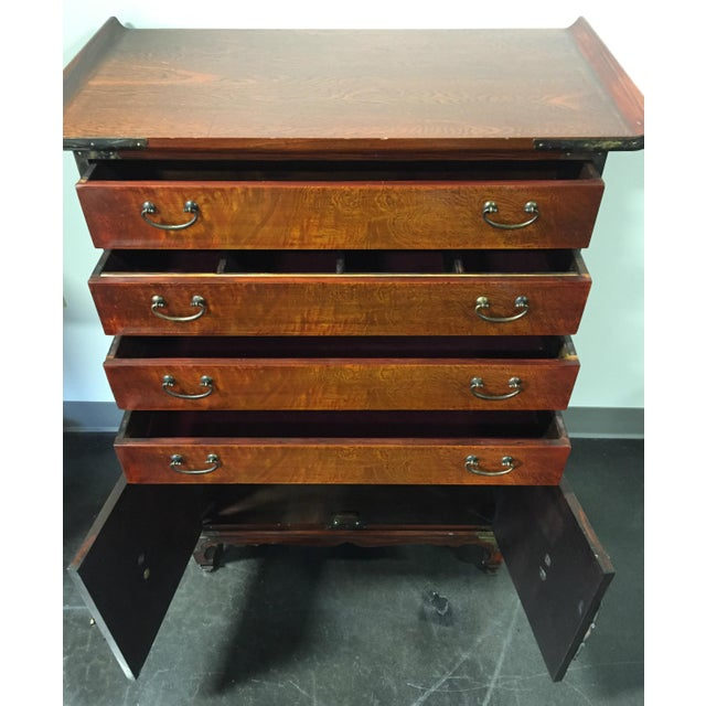 Japanese Tansu Style Silver Chest - Image 8 of 10