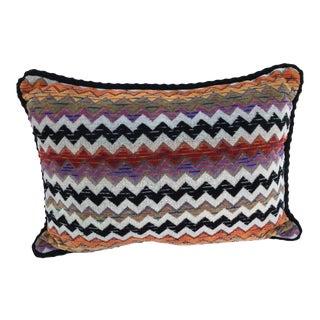 Boho Chic Missoni Pillow For Sale