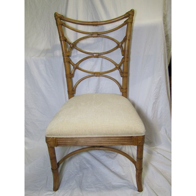 Contemporary Tommy Bahama Sanibel Side Chairs - A Pair For Sale - Image 3 of 7