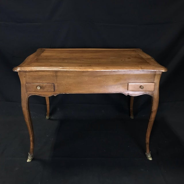19th Century Antique Walnut Game or Side Table For Sale - Image 10 of 12
