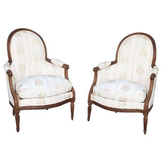 18th Century Child's Bergères Stamped Nadal-Laine - a Pair For Sale