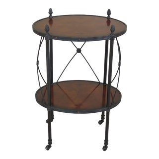 Vintage Theodore Alexander Regency Style Side Table For Sale