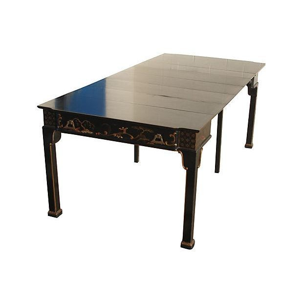 Convertible Chinoiserie Desk And Dining Table - Image 2 of 6