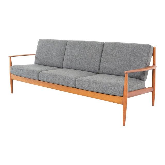 Grete Jalk for France + Daverkosen Teak Wood Sofa