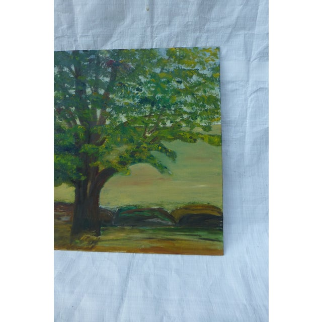MCM Painting of Large Tree by H.L. Musgrave - Image 5 of 6