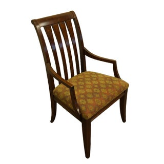 Late 20th Century Vintage Ethan Allen Avenue Collection Mission Style Dining Arm Chair Preview
