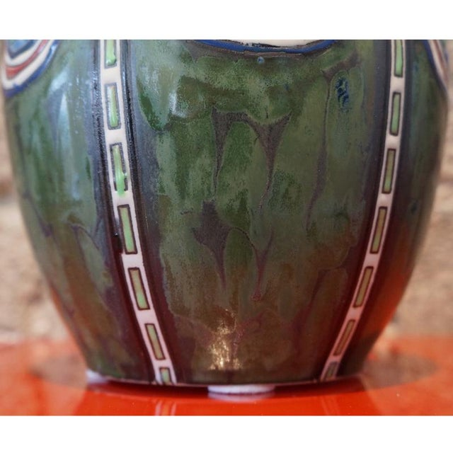 1920s 1920s Maurice Dufrane Vase For Sale - Image 5 of 7