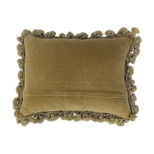 Aubusson Scotty Dog Tassel Pillow - Image 4 of 4
