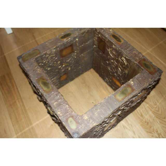 """Gold """"Goop"""" Table For Sale - Image 8 of 11"""