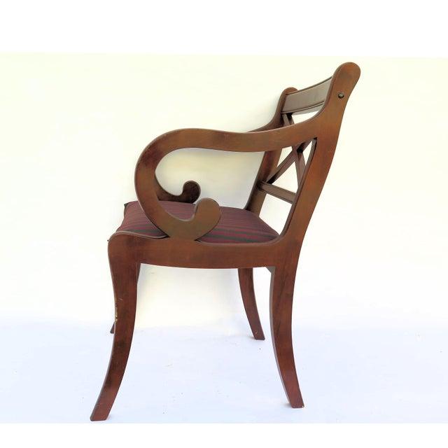 Quot Bombay Co Quot Single Mahogany Chair Chairish