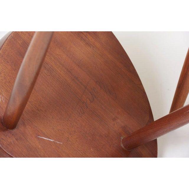 Pair of George Nakashima Studio Mira Nakashima Mira Chair in Walnut For Sale - Image 9 of 10