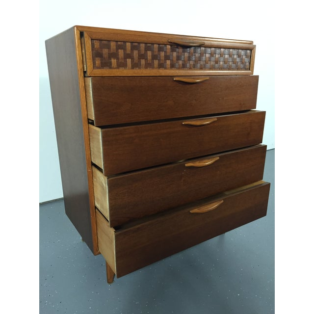 Andre Bus by Lane Mid-Century Perception Chest of Drawers - Image 5 of 10