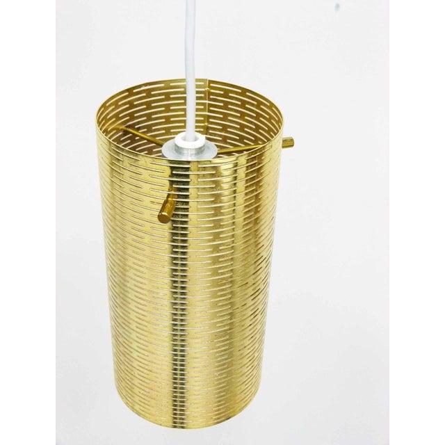 Pierced Pendant Lights by Lightolier - Set of 3 - Image 2 of 10