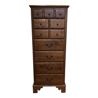 Traditional Mahogany Lingerie Chest