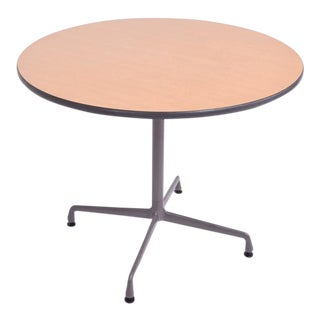 Herman Miller Eames Aluminum Group Table For Sale