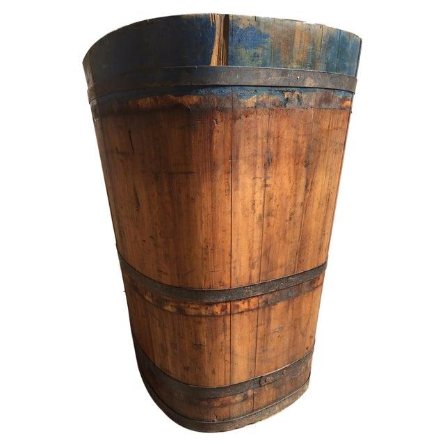 Brown Vintage French Vineyard Barrels For Sale - Image 8 of 10