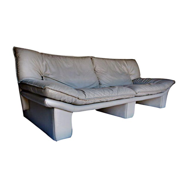 Tremendous Vintage Italian Leather Sofa By Nicoletti Salotti Gmtry Best Dining Table And Chair Ideas Images Gmtryco