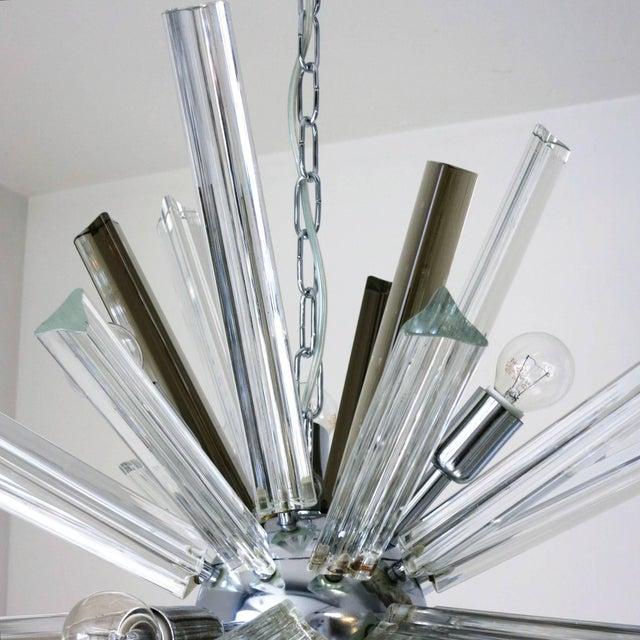 Venini Italian Mid-Century Murano Glass Chandelier by Venini For Sale - Image 4 of 8