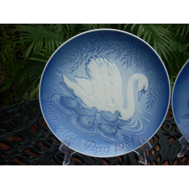 B&G Copenhagen Mother's Day Plates - A Pair - Image 4 of 4